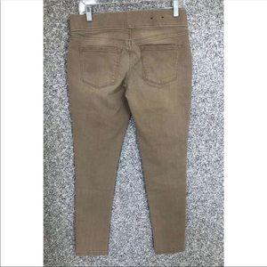 Ralph Lauren Beige Skinny Jeans Stretch Pull On 4